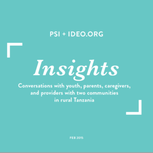 Cover of Insights deck